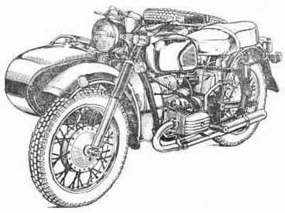 Мотоцикл днепр инструкция по